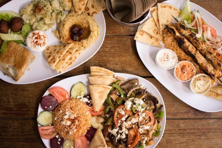 authentic greek, greek food, hummus